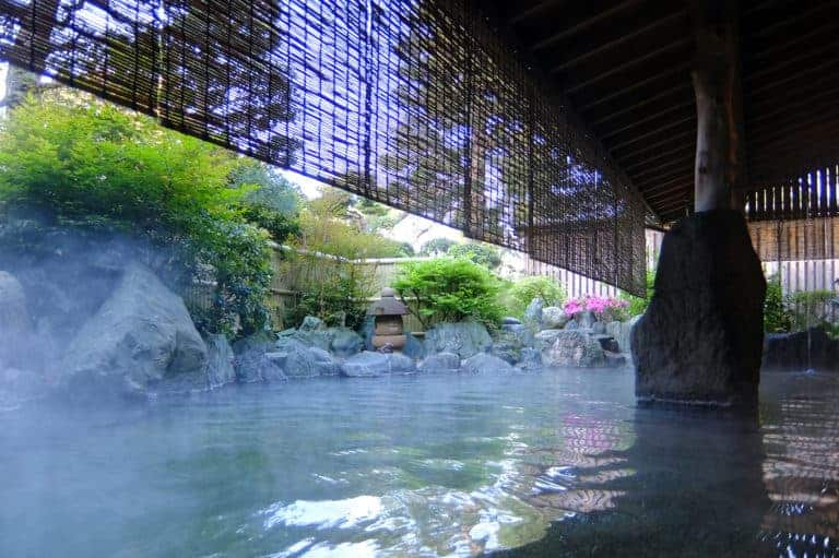 Tenzan Onsen in Hakone